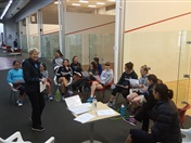 NZ ELITE JUNIORS GIRLS SQUAD CAMP AUG 2016
